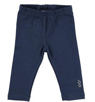 Leggings lungo in cotone elasticizzato ido NAVY-3854