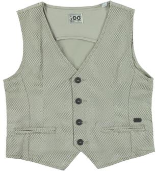 Giacca in cotone elasticizzato ido BEIGE-BEIGE-6S38