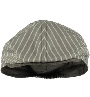 Cappello modello coppola 100% cotone ido DARK BEIGE-0475