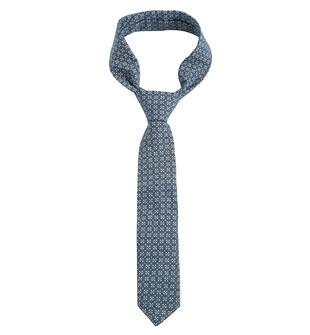 Cravatta classica ido BLU MELANGE-MICROFANTASIA-6T25