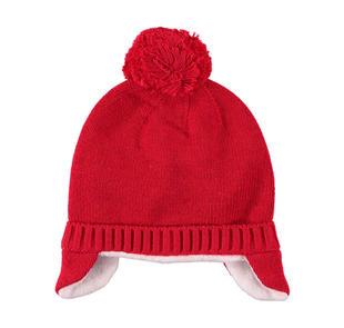 Simpatico cappello con para orecchie ido ROSSO-2253