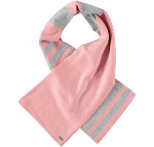Sciarpa in tricot misto cotone ido ROSA-GRIGIO-8248