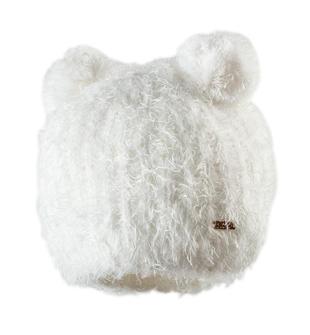 Cappellino con doppio pon pon ido PANNA-0112