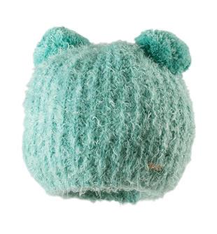 Cappellino con doppio pon pon ido ACQUA-4145