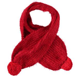 Sciarpa in speciale e morbido tricot ido ROSSO-2253