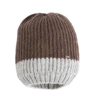 Cappello bicolore in tricot lurex ido MARRONE-GRIGIO-8269