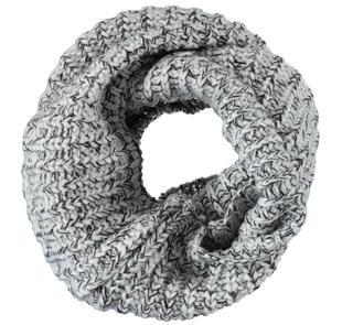 Scaldacollo in misto acrilico e lana ido GRIGIO MELANGE-8992