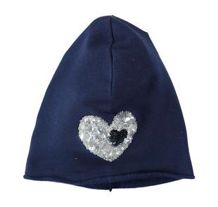 Cappello in felpa di cotone elasticizzato ido NAVY-3854
