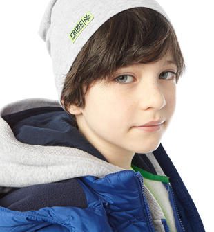 Cappello in cotone elasticizzato ido GRIGIO MELANGE-8992