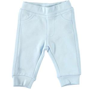Pantalone in felpa con tasche sagomate a punta dietro ido SKY-5818