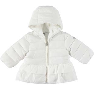 Piumino invernale trapuntato in caldo nylon ido PANNA-0112