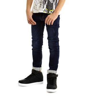 Pantalone in felpa effetto denim per bambino ido BLU-7750