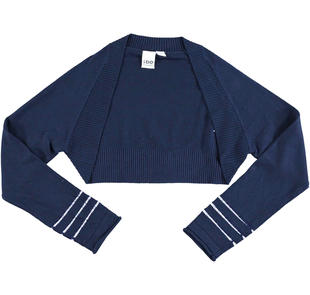 Coprispalle in morbido tricot misto viscosa ido NAVY-3854