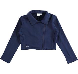 Elegante giacchetto modello chiodo ido NAVY-3854
