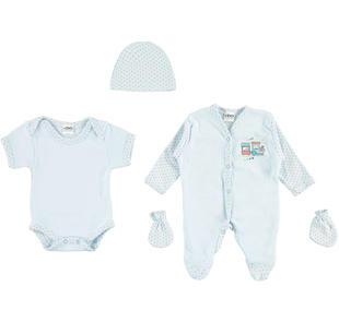 Corredino 100% cotone per bambini prematuri ido SKY-5818