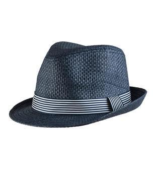 Cappello modello panama in rafia ido NAVY-3856