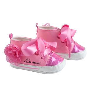 Scarpine modello sneakers con roselline ido FUXIA FLUO-5826
