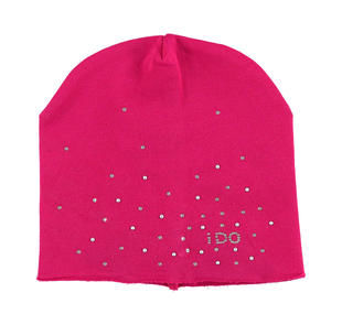 Cappellino con strass e borchiette ido