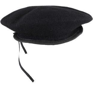 Cappello basco alla parigina ido NERO-0658