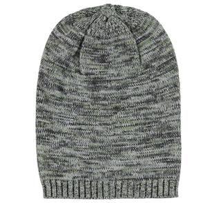 Berretto in tricot effetto screziato ido VERDE-4752