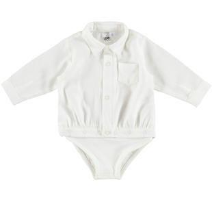 Camicia modello body 100% cotone ido PANNA-0112