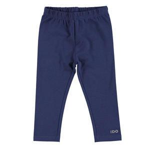 Leggings in jersey stretch di cotone smerigliato ido NAVY-3854