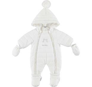 Idea regalo neonato: tutone termico in morbida microfibra imbottito ido PANNA-0112
