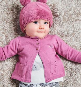 Cardigan in tricot con tasche stondate ido ORCHIDEA-2746