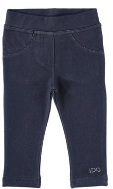 Jeggings bambina in jersey stretch effetto denim ido NAVY-3854