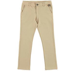 Grazioso pantalone modello chinos per bambino ido BEIGE-0471