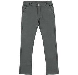 Grazioso pantalone modello chinos per bambino ido GRIGIO-0567