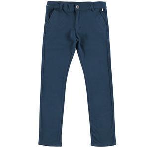 Grazioso pantalone modello chinos per bambino ido NAVY-3856