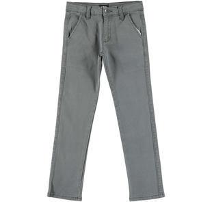 Pantalone fantasia jacquard per bambino ido GRIGIO-GRIGIO-6EL6