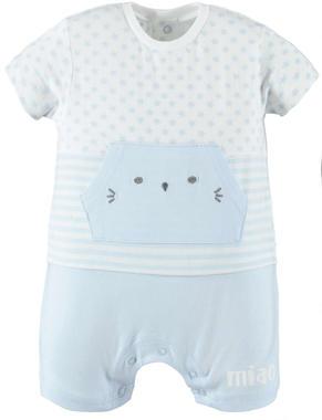Pagliaccetto in jersey con tasca gattino modello unisex ido SKY-5818