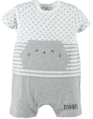 Pagliaccetto in jersey con tasca gattino modello unisex ido GRIGIO MELANGE-8992