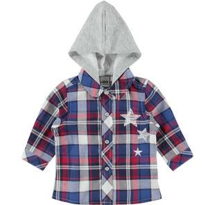 Grintosa camicia 100% cotone per neonato ido AVION-3727