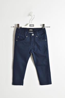 Pantalone slim fit in cotone ido NAVY-3885