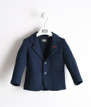 Comoda giacca in cotone piquet ido NAVY-3885