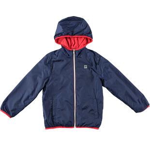 Leggera giacca antivento con cappuccio ido NAVY-3854