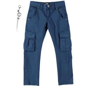 Pantalone modello cargo con tasconi ido NAVY-3657