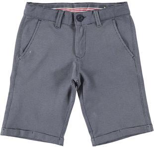 Pantalone corto in felpa per look casual ido ECRU'-BLU-6FR6