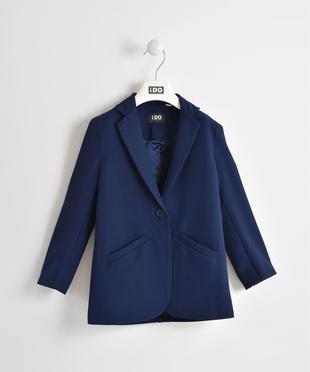 Giacca modello blazer in satin ido NAVY-3854