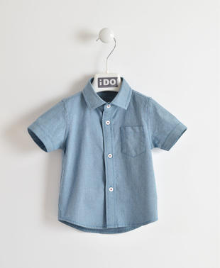 Camicia in jersey effetto denim ido AVION-3727