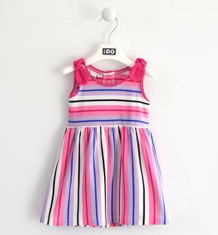 Colorato abito smanicato in jersey ido ROSA BUBBLE-2421