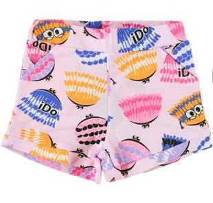 Colorati shorts con simpatiche stampe ido ROSA-MULTICOLOR-6GM9