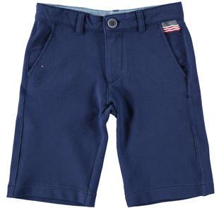 Pantaloncino corto in maglia piquet ido NAVY-3547