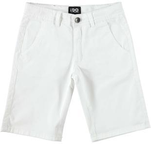 Pantalone in twill al ginocchio ido BIANCO-0113