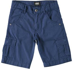 Pantalone corto modello cargo ido NAVY-3547