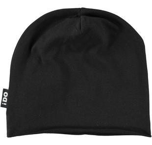 Cappello modello cuffia rifiniture taglio vivo ido NERO-0658