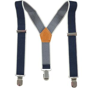 Bretelle elastiche regolabili ido NAVY-3885